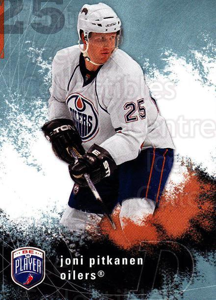 2007-08 Be A Player #80 Joni Pitkanen<br/>3 In Stock - $1.00 each - <a href=https://centericecollectibles.foxycart.com/cart?name=2007-08%20Be%20A%20Player%20%2380%20Joni%20Pitkanen...&quantity_max=3&price=$1.00&code=168232 class=foxycart> Buy it now! </a>
