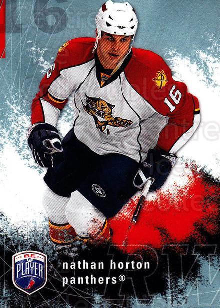 2007-08 Be A Player #84 Nathan Horton<br/>4 In Stock - $1.00 each - <a href=https://centericecollectibles.foxycart.com/cart?name=2007-08%20Be%20A%20Player%20%2384%20Nathan%20Horton...&quantity_max=4&price=$1.00&code=168236 class=foxycart> Buy it now! </a>