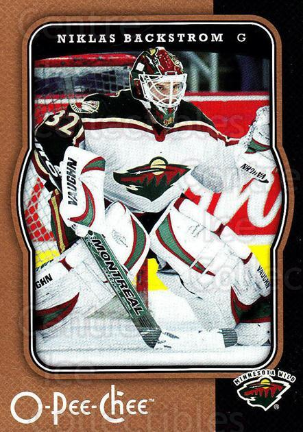 2007-08 O-Pee-Chee #237 Niklas Backstrom<br/>4 In Stock - $1.00 each - <a href=https://centericecollectibles.foxycart.com/cart?name=2007-08%20O-Pee-Chee%20%23237%20Niklas%20Backstro...&quantity_max=4&price=$1.00&code=168472 class=foxycart> Buy it now! </a>