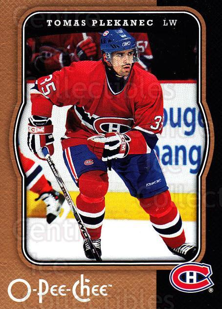 2007-08 O-Pee-Chee #265 Tomas Plekanec<br/>4 In Stock - $1.00 each - <a href=https://centericecollectibles.foxycart.com/cart?name=2007-08%20O-Pee-Chee%20%23265%20Tomas%20Plekanec...&quantity_max=4&price=$1.00&code=168503 class=foxycart> Buy it now! </a>