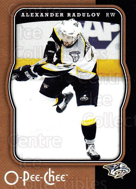 2007-08 O-Pee-Chee #277 Alexander Radulov<br/>5 In Stock - $1.00 each - <a href=https://centericecollectibles.foxycart.com/cart?name=2007-08%20O-Pee-Chee%20%23277%20Alexander%20Radul...&quantity_max=5&price=$1.00&code=168516 class=foxycart> Buy it now! </a>