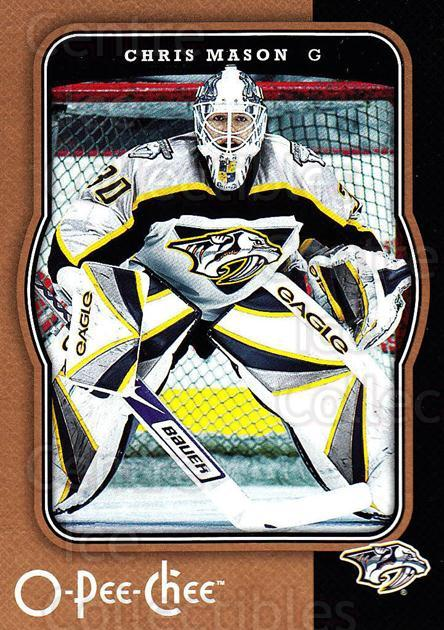2007-08 O-Pee-Chee #282 Chris Mason<br/>5 In Stock - $1.00 each - <a href=https://centericecollectibles.foxycart.com/cart?name=2007-08%20O-Pee-Chee%20%23282%20Chris%20Mason...&quantity_max=5&price=$1.00&code=168522 class=foxycart> Buy it now! </a>