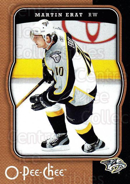 2007-08 O-Pee-Chee #285 Martin Erat<br/>2 In Stock - $1.00 each - <a href=https://centericecollectibles.foxycart.com/cart?name=2007-08%20O-Pee-Chee%20%23285%20Martin%20Erat...&quantity_max=2&price=$1.00&code=168525 class=foxycart> Buy it now! </a>
