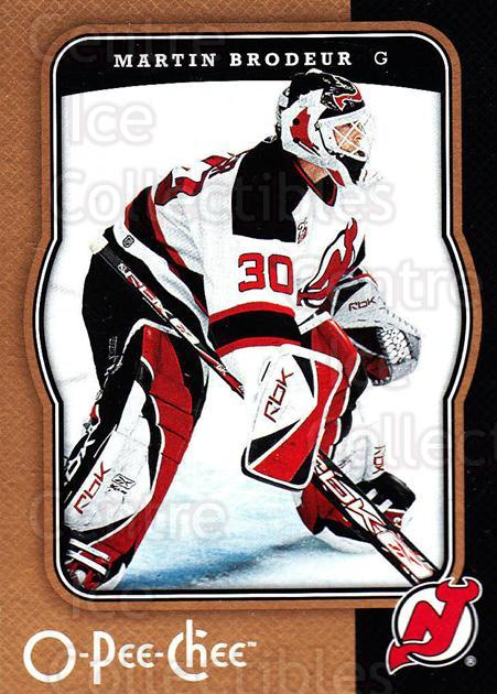 2007-08 O-Pee-Chee #295 Martin Brodeur<br/>4 In Stock - $2.00 each - <a href=https://centericecollectibles.foxycart.com/cart?name=2007-08%20O-Pee-Chee%20%23295%20Martin%20Brodeur...&quantity_max=4&price=$2.00&code=168536 class=foxycart> Buy it now! </a>