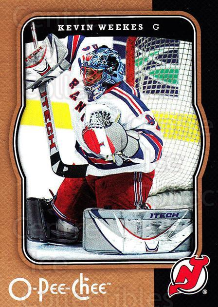 2007-08 O-Pee-Chee #300 Kevin Weekes<br/>3 In Stock - $1.00 each - <a href=https://centericecollectibles.foxycart.com/cart?name=2007-08%20O-Pee-Chee%20%23300%20Kevin%20Weekes...&quantity_max=3&price=$1.00&code=168543 class=foxycart> Buy it now! </a>