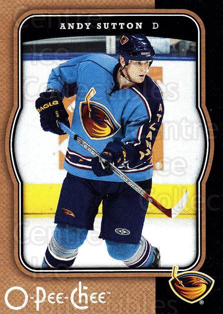 2007-08 O-Pee-Chee #33 Andy Sutton<br/>5 In Stock - $1.00 each - <a href=https://centericecollectibles.foxycart.com/cart?name=2007-08%20O-Pee-Chee%20%2333%20Andy%20Sutton...&quantity_max=5&price=$1.00&code=168575 class=foxycart> Buy it now! </a>