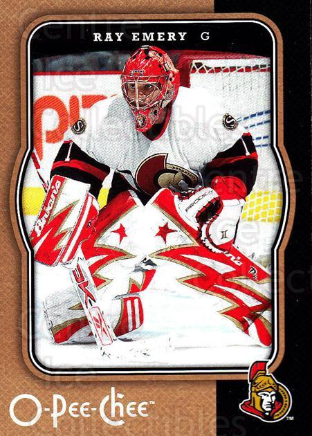 2007-08 O-Pee-Chee #343 Ray Emery<br/>6 In Stock - $1.00 each - <a href=https://centericecollectibles.foxycart.com/cart?name=2007-08%20O-Pee-Chee%20%23343%20Ray%20Emery...&quantity_max=6&price=$1.00&code=168590 class=foxycart> Buy it now! </a>