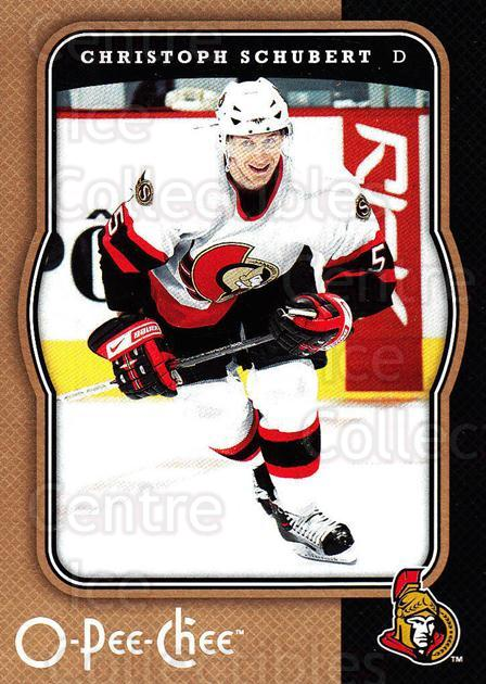 2007-08 O-Pee-Chee #349 Christoph Schubert<br/>2 In Stock - $1.00 each - <a href=https://centericecollectibles.foxycart.com/cart?name=2007-08%20O-Pee-Chee%20%23349%20Christoph%20Schub...&quantity_max=2&price=$1.00&code=168596 class=foxycart> Buy it now! </a>