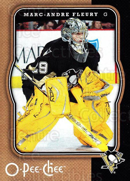 2007-08 O-Pee-Chee #383 Marc-Andre Fleury<br/>5 In Stock - $2.00 each - <a href=https://centericecollectibles.foxycart.com/cart?name=2007-08%20O-Pee-Chee%20%23383%20Marc-Andre%20Fleu...&quantity_max=5&price=$2.00&code=168634 class=foxycart> Buy it now! </a>