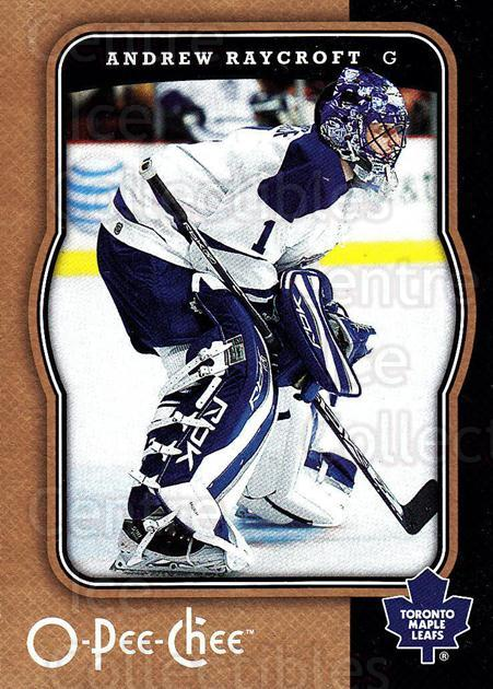 2007-08 O-Pee-Chee #459 Andrew Raycroft<br/>4 In Stock - $1.00 each - <a href=https://centericecollectibles.foxycart.com/cart?name=2007-08%20O-Pee-Chee%20%23459%20Andrew%20Raycroft...&quantity_max=4&price=$1.00&code=168718 class=foxycart> Buy it now! </a>