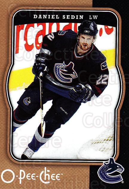 2007-08 O-Pee-Chee #484 Daniel Sedin<br/>5 In Stock - $1.00 each - <a href=https://centericecollectibles.foxycart.com/cart?name=2007-08%20O-Pee-Chee%20%23484%20Daniel%20Sedin...&price=$1.00&code=168746 class=foxycart> Buy it now! </a>