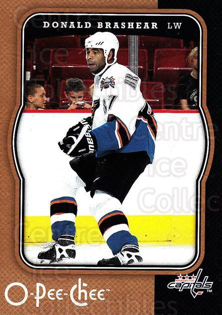2007-08 O-Pee-Chee #490 Donald Brashear<br/>5 In Stock - $1.00 each - <a href=https://centericecollectibles.foxycart.com/cart?name=2007-08%20O-Pee-Chee%20%23490%20Donald%20Brashear...&quantity_max=5&price=$1.00&code=168753 class=foxycart> Buy it now! </a>