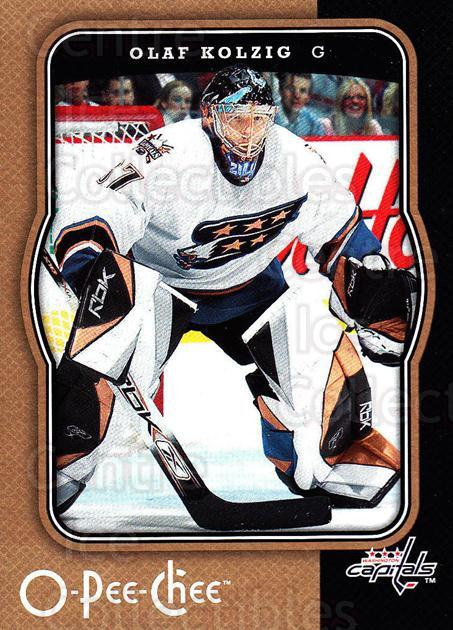 2007-08 O-Pee-Chee #493 Olaf Kolzig<br/>6 In Stock - $1.00 each - <a href=https://centericecollectibles.foxycart.com/cart?name=2007-08%20O-Pee-Chee%20%23493%20Olaf%20Kolzig...&quantity_max=6&price=$1.00&code=168756 class=foxycart> Buy it now! </a>