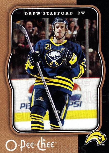 2007-08 O-Pee-Chee #58 Drew Stafford<br/>3 In Stock - $1.00 each - <a href=https://centericecollectibles.foxycart.com/cart?name=2007-08%20O-Pee-Chee%20%2358%20Drew%20Stafford...&quantity_max=3&price=$1.00&code=168773 class=foxycart> Buy it now! </a>