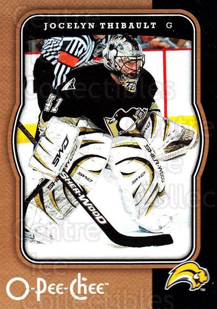 2007-08 O-Pee-Chee #61 Jocelyn Thibault<br/>5 In Stock - $1.00 each - <a href=https://centericecollectibles.foxycart.com/cart?name=2007-08%20O-Pee-Chee%20%2361%20Jocelyn%20Thibaul...&quantity_max=5&price=$1.00&code=168777 class=foxycart> Buy it now! </a>