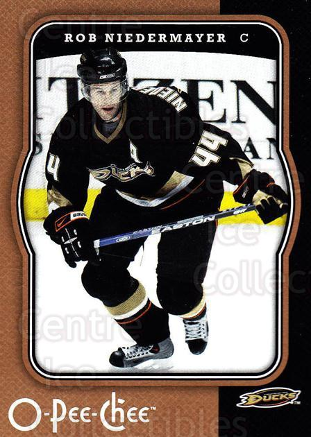 2007-08 O-Pee-Chee #7 Rob Niedermayer<br/>5 In Stock - $1.00 each - <a href=https://centericecollectibles.foxycart.com/cart?name=2007-08%20O-Pee-Chee%20%237%20Rob%20Niedermayer...&quantity_max=5&price=$1.00&code=168786 class=foxycart> Buy it now! </a>