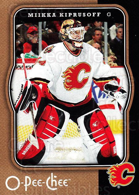 2007-08 O-Pee-Chee #73 Miikka Kiprusoff<br/>5 In Stock - $2.00 each - <a href=https://centericecollectibles.foxycart.com/cart?name=2007-08%20O-Pee-Chee%20%2373%20Miikka%20Kiprusof...&quantity_max=5&price=$2.00&code=168790 class=foxycart> Buy it now! </a>