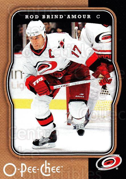 2007-08 O-Pee-Chee #96 Rod Brind'Amour<br/>5 In Stock - $1.00 each - <a href=https://centericecollectibles.foxycart.com/cart?name=2007-08%20O-Pee-Chee%20%2396%20Rod%20Brind'Amour...&quantity_max=5&price=$1.00&code=168815 class=foxycart> Buy it now! </a>