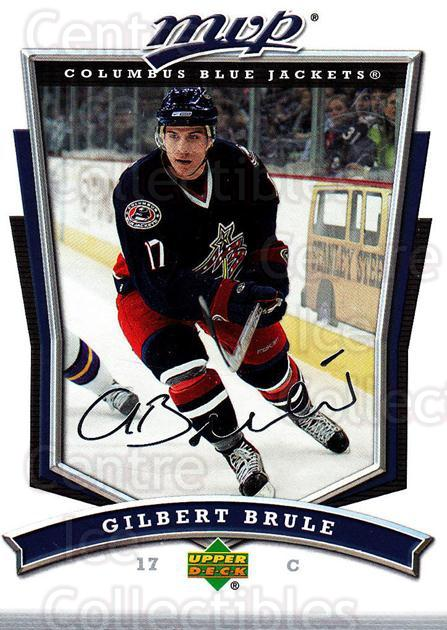 2007-08 Upper Deck MVP #25 Gilbert Brule<br/>5 In Stock - $1.00 each - <a href=https://centericecollectibles.foxycart.com/cart?name=2007-08%20Upper%20Deck%20MVP%20%2325%20Gilbert%20Brule...&quantity_max=5&price=$1.00&code=168882 class=foxycart> Buy it now! </a>