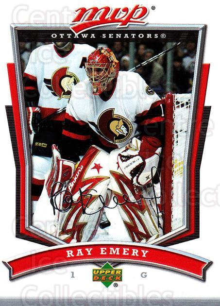 2007-08 Upper Deck MVP #252 Ray Emery<br/>5 In Stock - $1.00 each - <a href=https://centericecollectibles.foxycart.com/cart?name=2007-08%20Upper%20Deck%20MVP%20%23252%20Ray%20Emery...&quantity_max=5&price=$1.00&code=168885 class=foxycart> Buy it now! </a>