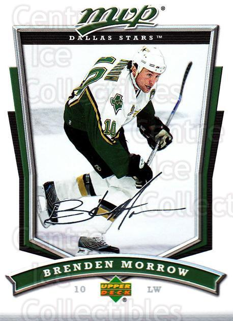 2007-08 Upper Deck MVP #277 Brenden Morrow<br/>5 In Stock - $1.00 each - <a href=https://centericecollectibles.foxycart.com/cart?name=2007-08%20Upper%20Deck%20MVP%20%23277%20Brenden%20Morrow...&quantity_max=5&price=$1.00&code=168912 class=foxycart> Buy it now! </a>