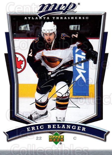 2007-08 Upper Deck MVP #288 Eric Belanger<br/>5 In Stock - $1.00 each - <a href=https://centericecollectibles.foxycart.com/cart?name=2007-08%20Upper%20Deck%20MVP%20%23288%20Eric%20Belanger...&quantity_max=5&price=$1.00&code=168924 class=foxycart> Buy it now! </a>