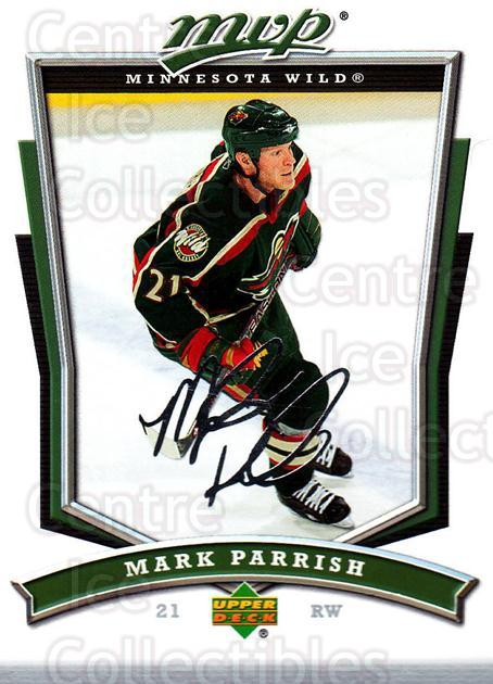 2007-08 Upper Deck MVP #289 Mark Parrish<br/>5 In Stock - $1.00 each - <a href=https://centericecollectibles.foxycart.com/cart?name=2007-08%20Upper%20Deck%20MVP%20%23289%20Mark%20Parrish...&quantity_max=5&price=$1.00&code=168925 class=foxycart> Buy it now! </a>