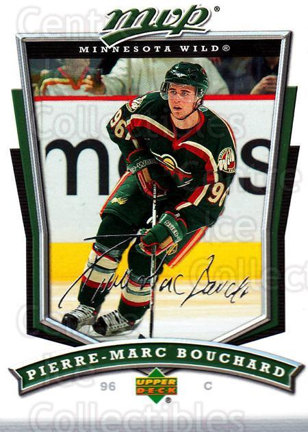 2007-08 Upper Deck MVP #295 Pierre-Marc Bouchard<br/>5 In Stock - $1.00 each - <a href=https://centericecollectibles.foxycart.com/cart?name=2007-08%20Upper%20Deck%20MVP%20%23295%20Pierre-Marc%20Bou...&quantity_max=5&price=$1.00&code=168932 class=foxycart> Buy it now! </a>