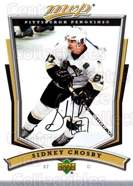 2007-08 Upper Deck MVP #300 Sidney Crosby, Checklist<br/>1 In Stock - $3.00 each - <a href=https://centericecollectibles.foxycart.com/cart?name=2007-08%20Upper%20Deck%20MVP%20%23300%20Sidney%20Crosby,%20...&quantity_max=1&price=$3.00&code=168939 class=foxycart> Buy it now! </a>
