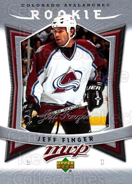 2007-08 Upper Deck MVP #301 Jeff Finger<br/>6 In Stock - $2.00 each - <a href=https://centericecollectibles.foxycart.com/cart?name=2007-08%20Upper%20Deck%20MVP%20%23301%20Jeff%20Finger...&price=$2.00&code=168940 class=foxycart> Buy it now! </a>