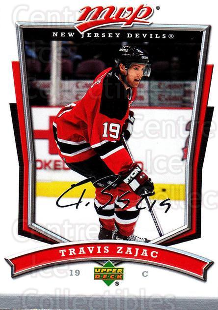 2007-08 Upper Deck MVP #93 Travis Zajac<br/>5 In Stock - $1.00 each - <a href=https://centericecollectibles.foxycart.com/cart?name=2007-08%20Upper%20Deck%20MVP%20%2393%20Travis%20Zajac...&quantity_max=5&price=$1.00&code=169057 class=foxycart> Buy it now! </a>