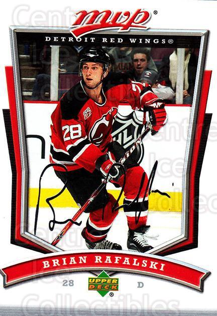 2007-08 Upper Deck MVP #94 Brian Rafalski<br/>5 In Stock - $1.00 each - <a href=https://centericecollectibles.foxycart.com/cart?name=2007-08%20Upper%20Deck%20MVP%20%2394%20Brian%20Rafalski...&quantity_max=5&price=$1.00&code=169058 class=foxycart> Buy it now! </a>