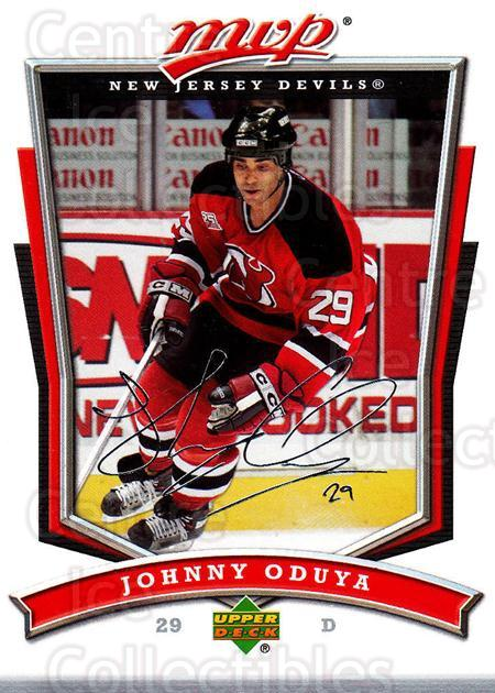 2007-08 Upper Deck MVP #98 Johnny Oduya<br/>4 In Stock - $1.00 each - <a href=https://centericecollectibles.foxycart.com/cart?name=2007-08%20Upper%20Deck%20MVP%20%2398%20Johnny%20Oduya...&quantity_max=4&price=$1.00&code=169062 class=foxycart> Buy it now! </a>