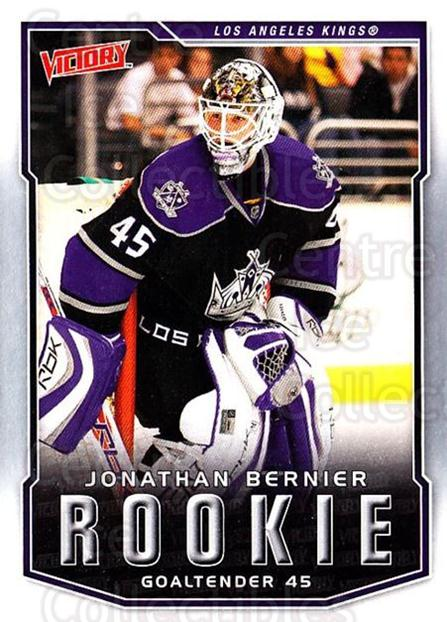 2007-08 UD Victory #315 Jonathan Bernier<br/>14 In Stock - $3.00 each - <a href=https://centericecollectibles.foxycart.com/cart?name=2007-08%20UD%20Victory%20%23315%20Jonathan%20Bernie...&price=$3.00&code=169098 class=foxycart> Buy it now! </a>