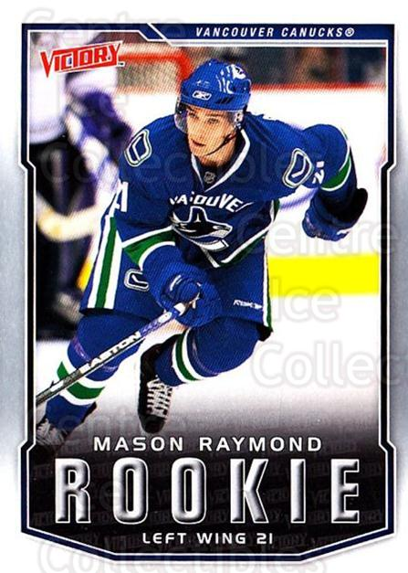 2007-08 UD Victory #322 Mason Raymond<br/>16 In Stock - $2.00 each - <a href=https://centericecollectibles.foxycart.com/cart?name=2007-08%20UD%20Victory%20%23322%20Mason%20Raymond...&price=$2.00&code=169106 class=foxycart> Buy it now! </a>
