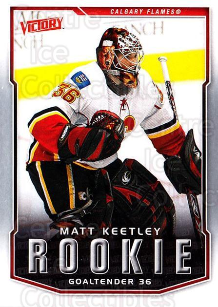 2007-08 UD Victory #323 Matt Keetley<br/>15 In Stock - $2.00 each - <a href=https://centericecollectibles.foxycart.com/cart?name=2007-08%20UD%20Victory%20%23323%20Matt%20Keetley...&price=$2.00&code=169107 class=foxycart> Buy it now! </a>