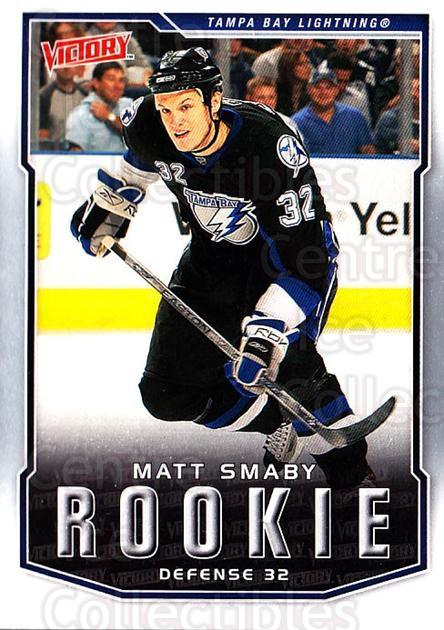 2007-08 UD Victory #326 Matt Smaby<br/>17 In Stock - $2.00 each - <a href=https://centericecollectibles.foxycart.com/cart?name=2007-08%20UD%20Victory%20%23326%20Matt%20Smaby...&price=$2.00&code=169110 class=foxycart> Buy it now! </a>