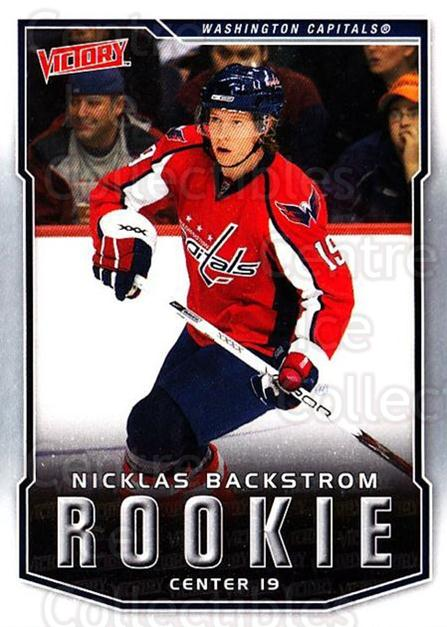 2007-08 UD Victory #331 Nicklas Backstrom<br/>11 In Stock - $5.00 each - <a href=https://centericecollectibles.foxycart.com/cart?name=2007-08%20UD%20Victory%20%23331%20Nicklas%20Backstr...&price=$5.00&code=169115 class=foxycart> Buy it now! </a>