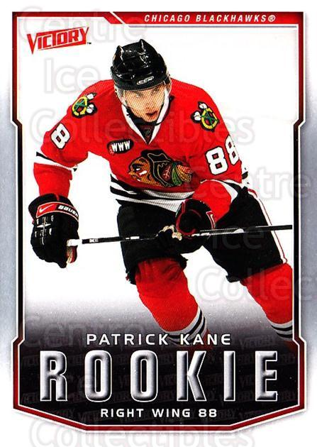 2007-08 UD Victory #335 Patrick Kane<br/>9 In Stock - $10.00 each - <a href=https://centericecollectibles.foxycart.com/cart?name=2007-08%20UD%20Victory%20%23335%20Patrick%20Kane...&price=$10.00&code=169119 class=foxycart> Buy it now! </a>