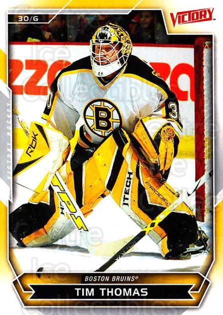 2007-08 UD Victory #61 Tim Thomas<br/>5 In Stock - $1.00 each - <a href=https://centericecollectibles.foxycart.com/cart?name=2007-08%20UD%20Victory%20%2361%20Tim%20Thomas...&price=$1.00&code=169160 class=foxycart> Buy it now! </a>