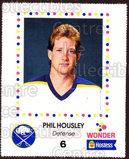 1987-88 Buffalo Sabres Wonder Bread #12 Phil Housley<br/>2 In Stock - $3.00 each - <a href=https://centericecollectibles.foxycart.com/cart?name=1987-88%20Buffalo%20Sabres%20Wonder%20Bread%20%2312%20Phil%20Housley...&quantity_max=2&price=$3.00&code=169277 class=foxycart> Buy it now! </a>