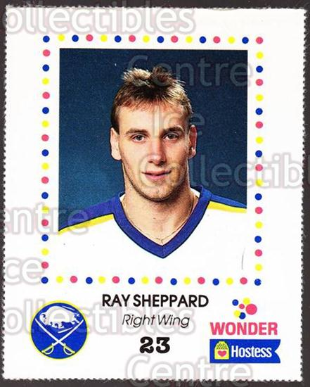 1987-88 Buffalo Sabres Wonder Bread #26 Ray Sheppard<br/>5 In Stock - $3.00 each - <a href=https://centericecollectibles.foxycart.com/cart?name=1987-88%20Buffalo%20Sabres%20Wonder%20Bread%20%2326%20Ray%20Sheppard...&quantity_max=5&price=$3.00&code=169288 class=foxycart> Buy it now! </a>