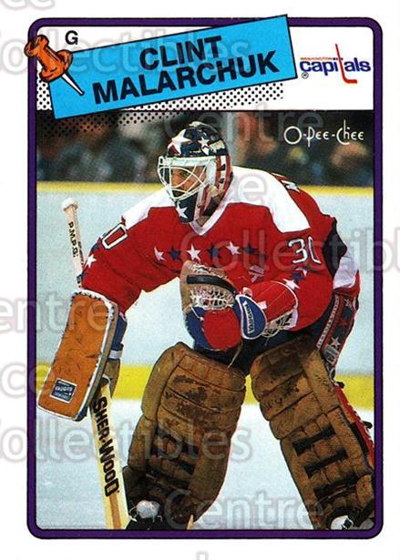1988-89 O-Pee-Chee #25 Clint Malarchuk<br/>7 In Stock - $1.00 each - <a href=https://centericecollectibles.foxycart.com/cart?name=1988-89%20O-Pee-Chee%20%2325%20Clint%20Malarchuk...&quantity_max=7&price=$1.00&code=169298 class=foxycart> Buy it now! </a>