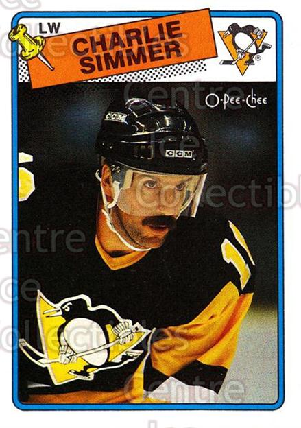 1988-89 O-Pee-Chee #250 Charlie Simmer<br/>10 In Stock - $1.00 each - <a href=https://centericecollectibles.foxycart.com/cart?name=1988-89%20O-Pee-Chee%20%23250%20Charlie%20Simmer...&quantity_max=10&price=$1.00&code=169299 class=foxycart> Buy it now! </a>