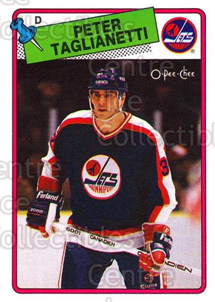 1988-89 O-Pee-Chee #257 Peter Taglianetti<br/>12 In Stock - $1.00 each - <a href=https://centericecollectibles.foxycart.com/cart?name=1988-89%20O-Pee-Chee%20%23257%20Peter%20Taglianet...&quantity_max=12&price=$1.00&code=169305 class=foxycart> Buy it now! </a>