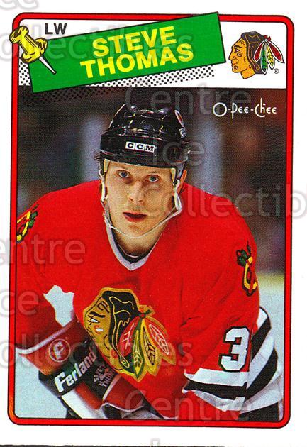 1988-89 O-Pee-Chee #259 Steve Thomas<br/>10 In Stock - $1.00 each - <a href=https://centericecollectibles.foxycart.com/cart?name=1988-89%20O-Pee-Chee%20%23259%20Steve%20Thomas...&quantity_max=10&price=$1.00&code=169307 class=foxycart> Buy it now! </a>