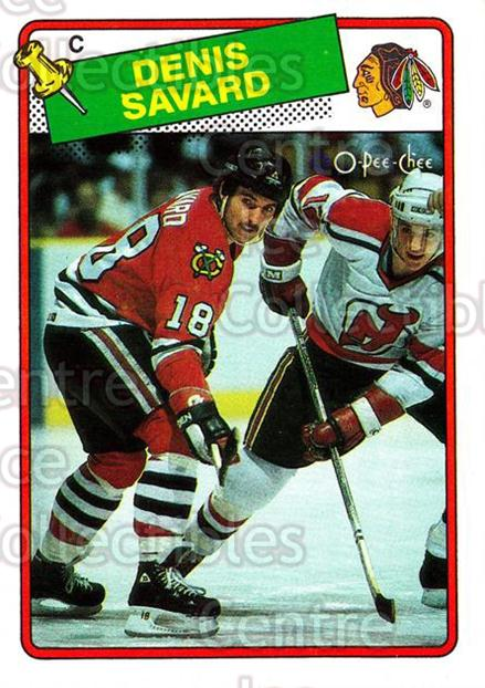 1988-89 O-Pee-Chee #26 Denis Savard<br/>8 In Stock - $2.00 each - <a href=https://centericecollectibles.foxycart.com/cart?name=1988-89%20O-Pee-Chee%20%2326%20Denis%20Savard...&quantity_max=8&price=$2.00&code=169308 class=foxycart> Buy it now! </a>