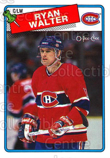 1988-89 O-Pee-Chee #262 Ryan Walter<br/>5 In Stock - $1.00 each - <a href=https://centericecollectibles.foxycart.com/cart?name=1988-89%20O-Pee-Chee%20%23262%20Ryan%20Walter...&quantity_max=5&price=$1.00&code=169311 class=foxycart> Buy it now! </a>