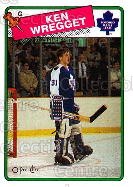 1988-89 O-Pee-Chee #264 Ken Wregget<br/>1 In Stock - $1.00 each - <a href=https://centericecollectibles.foxycart.com/cart?name=1988-89%20O-Pee-Chee%20%23264%20Ken%20Wregget...&quantity_max=1&price=$1.00&code=169313 class=foxycart> Buy it now! </a>