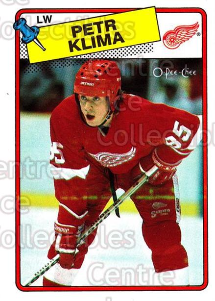 1988-89 O-Pee-Chee #28 Petr Klima<br/>6 In Stock - $1.00 each - <a href=https://centericecollectibles.foxycart.com/cart?name=1988-89%20O-Pee-Chee%20%2328%20Petr%20Klima...&quantity_max=6&price=$1.00&code=169315 class=foxycart> Buy it now! </a>